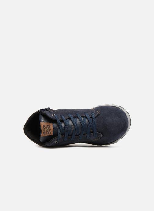 Sneakers Geox J Xunday Boy J843NA Azzurro immagine sinistra