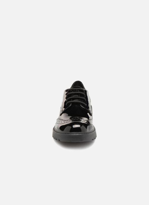 Chaussures à lacets Geox J Casey Girl J6420N Noir vue portées chaussures