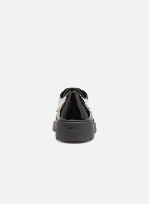 Lace-up shoes Geox J Casey Girl J6420N Black view from the right