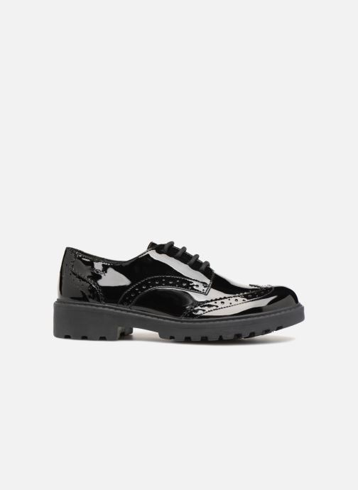 Lace-up shoes Geox J Casey Girl J6420N Black back view