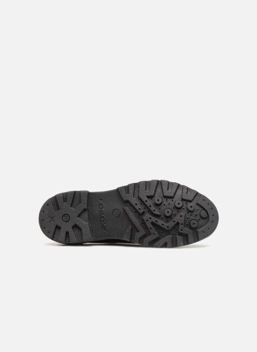 Chaussures à lacets Geox J Casey Girl J6420N Noir vue haut