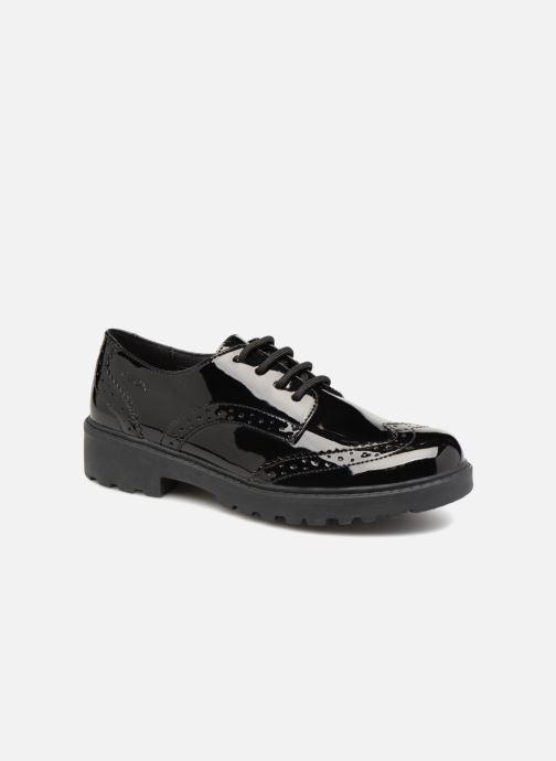 Chaussures à lacets Geox J Casey Girl J6420N Noir vue détail/paire