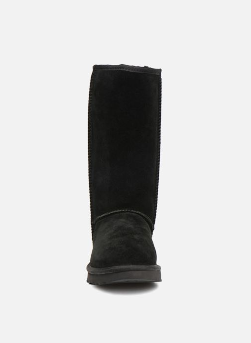 Bottes UGG W Classic Tall UGG Rubber Noir vue portées chaussures