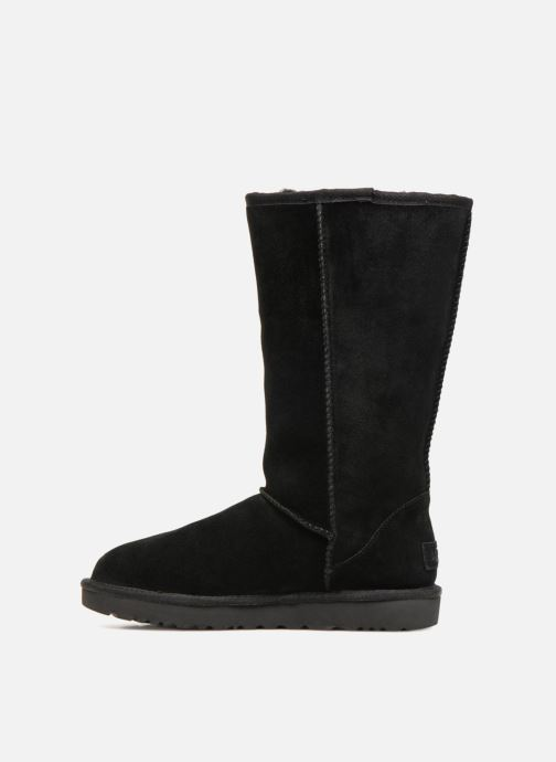 Bottes UGG W Classic Tall UGG Rubber Noir vue face