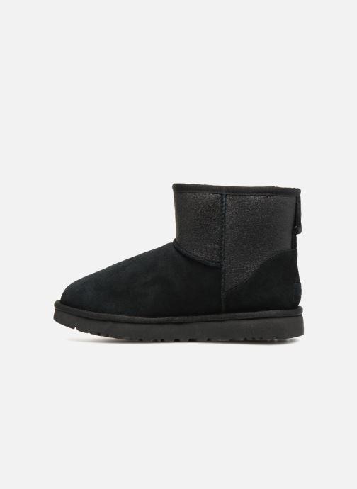 Bottines et boots UGG W Classic Mini UGG Sparkle Noir vue face