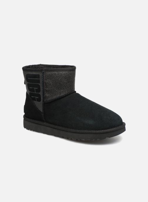 Bottines et boots UGG W Classic Mini UGG Sparkle Noir vue détail/paire