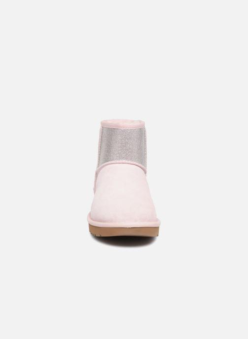 Bottines et boots UGG W Classic Mini UGG Sparkle Rose vue portées chaussures