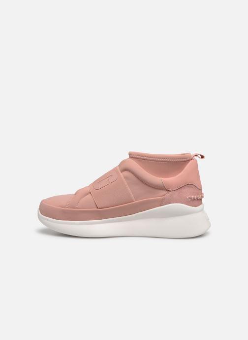 Deportivas UGG Neutra Sneaker Rosa vista de frente