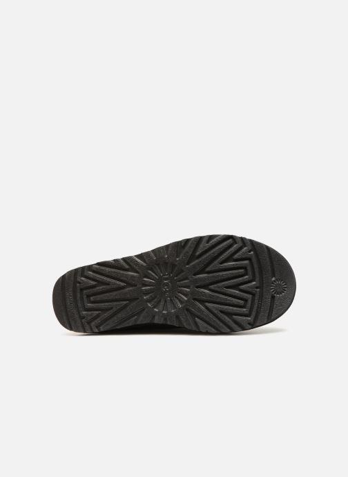 Stiefel UGG W Classic Short Sparkle Zip schwarz ansicht von oben