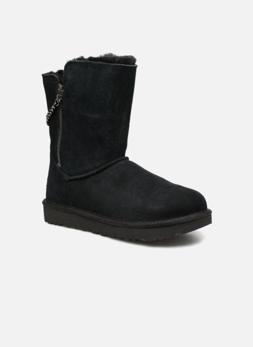 Stiefel UGG W Classic Short Sparkle Zip schwarz detaillierte ansicht/modell