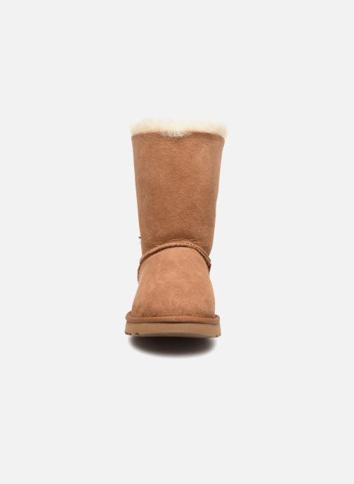 Stiefel UGG W Classic Charm Boot braun schuhe getragen