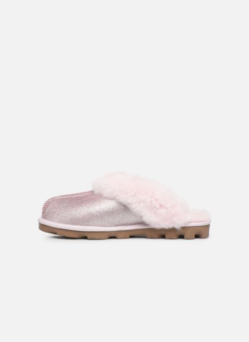 Pantofole UGG W Coquette UGG Sparkle Rosa immagine frontale