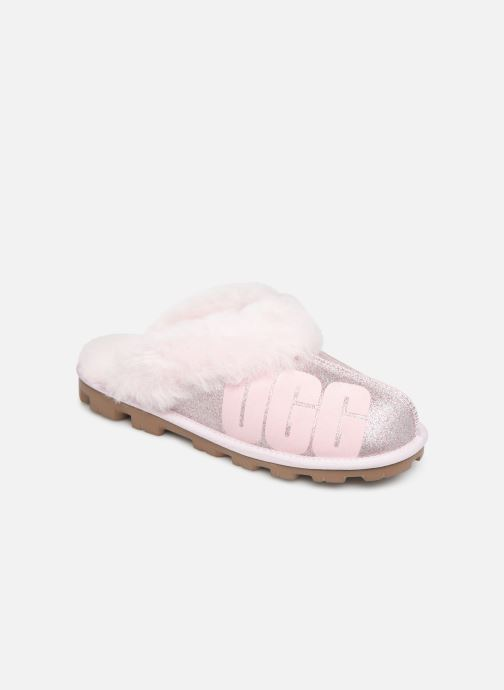 Pantofole UGG W Coquette UGG Sparkle Rosa vedi dettaglio/paio