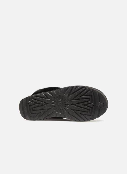 Botines  UGG W Fluff Mini Quilted Negro vista de arriba