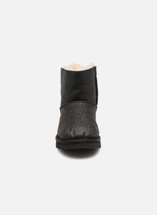 Bottines et boots UGG W Mini Bailey Bow Sparkle Noir vue portées chaussures