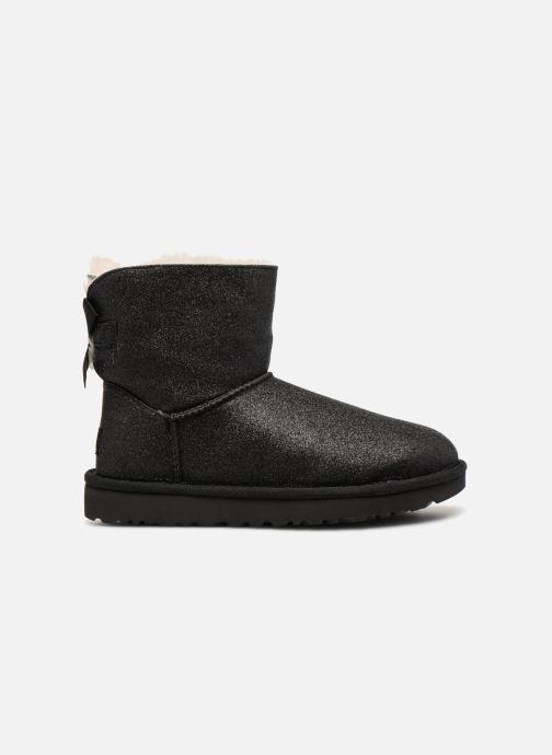 Bottines et boots UGG W Mini Bailey Bow Sparkle Noir vue derrière