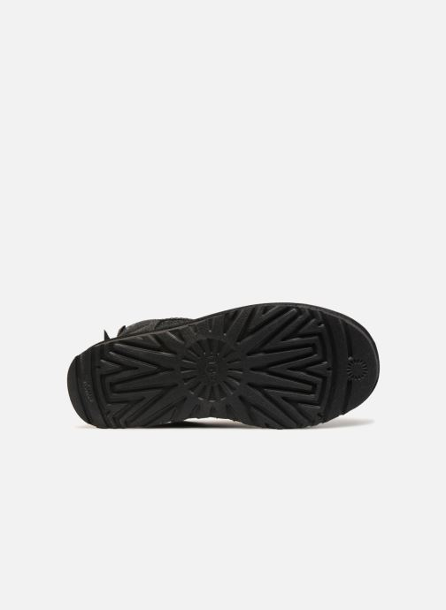 Bottines et boots UGG W Mini Bailey Bow Sparkle Noir vue haut