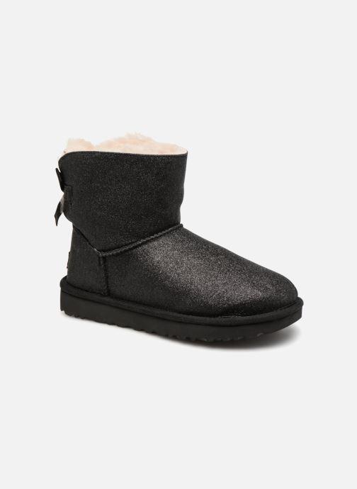 Bottines et boots UGG W Mini Bailey Bow Sparkle Noir vue détail/paire