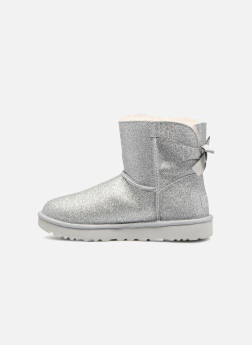 Bottines et boots UGG W Mini Bailey Bow Sparkle Argent vue face