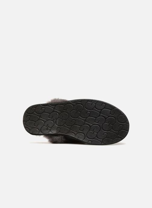 Pantuflas UGG W Scuffette II Sparkle Negro vista de arriba