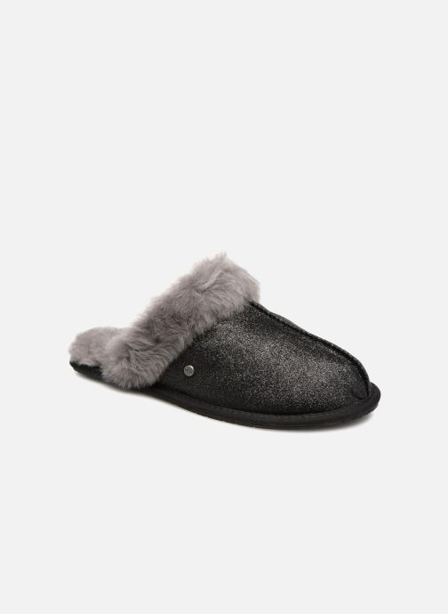 Slippers UGG W Scuffette II Sparkle Black detailed view/ Pair view