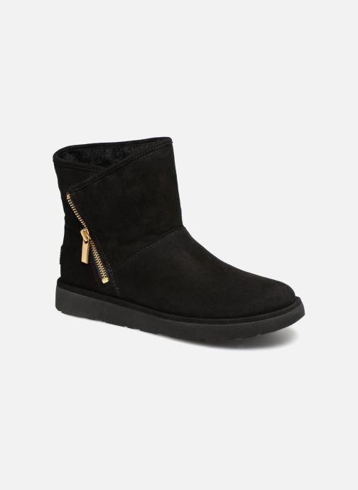 Bottines et boots UGG W Kip Noir vue détail/paire