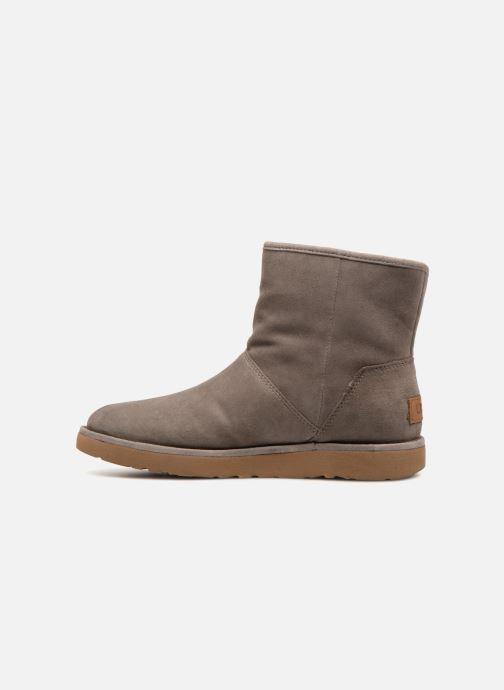 Bottines et boots UGG W Kip Gris vue face