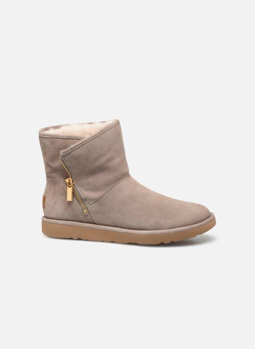 Bottines et boots UGG W Kip Gris vue derrière