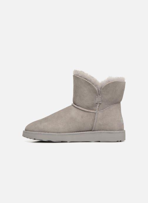 Stiefeletten & Boots UGG W Classic Cuff Mini grau ansicht von vorne