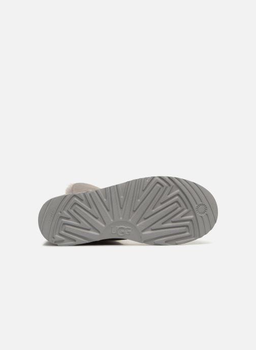 Stiefeletten & Boots UGG W Classic Cuff Mini grau ansicht von oben