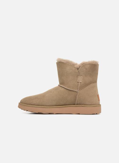 Bottines et boots UGG W Classic Cuff Mini Vert vue face
