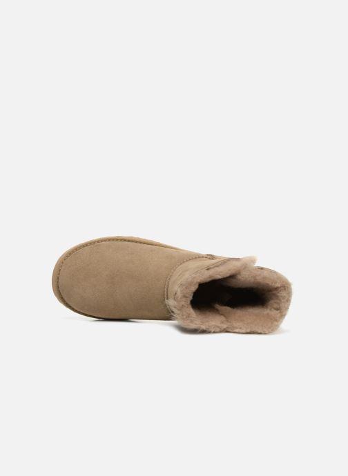 Bottines et boots UGG W Classic Cuff Mini Vert vue gauche