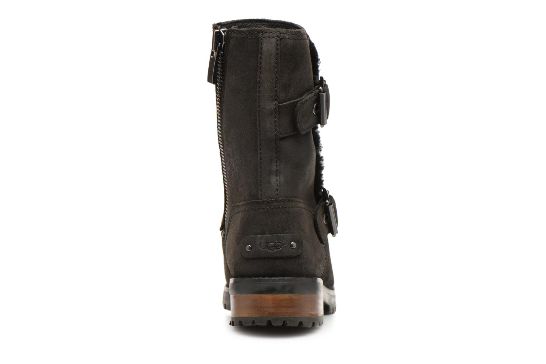 Bottines et boots UGG W Niels II Noir vue droite