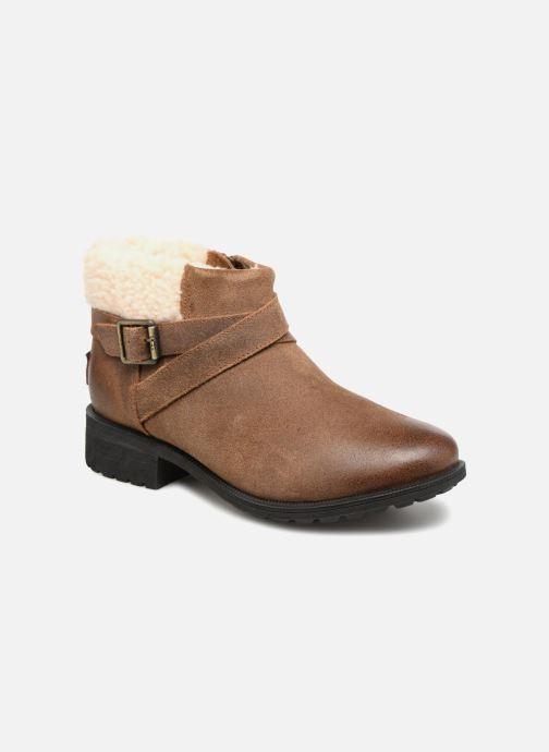 Bottines et boots UGG W Benson Boot Marron vue détail/paire