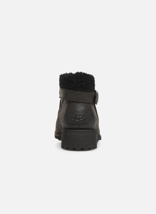 Botines  UGG W Benson Boot Negro vista lateral derecha