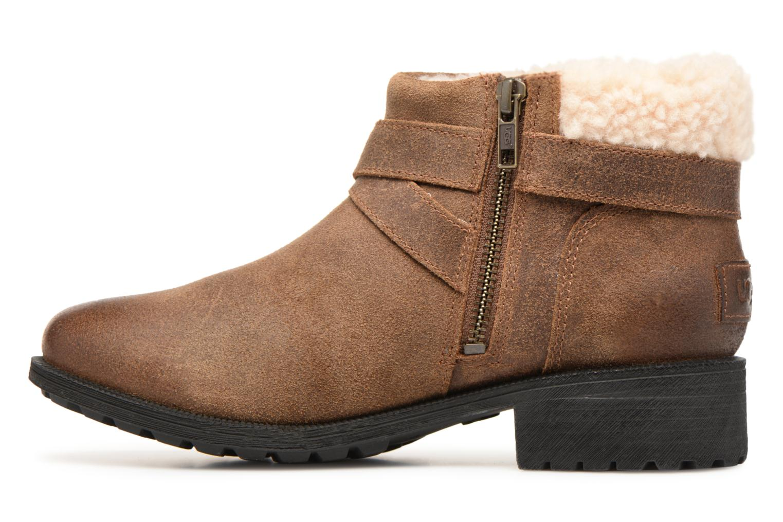 Bottines et boots UGG W Benson Boot Marron vue face