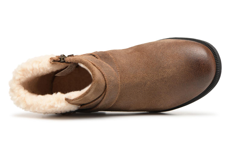 Bottines et boots UGG W Benson Boot Marron vue gauche