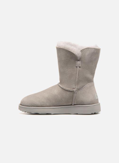 Bottines et boots UGG W Classic Cuff Short Gris vue face
