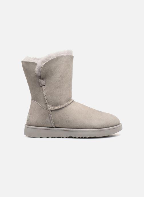 Boots en enkellaarsjes UGG W Classic Cuff Short Grijs achterkant