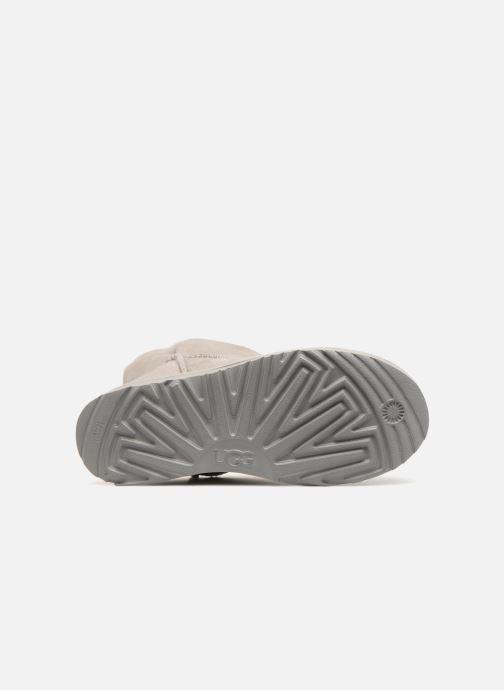 Stiefeletten & Boots UGG W Classic Cuff Short grau ansicht von oben