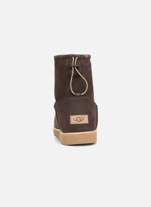 Botas UGG M Classic Toggle Waterproof Marrón vista lateral derecha