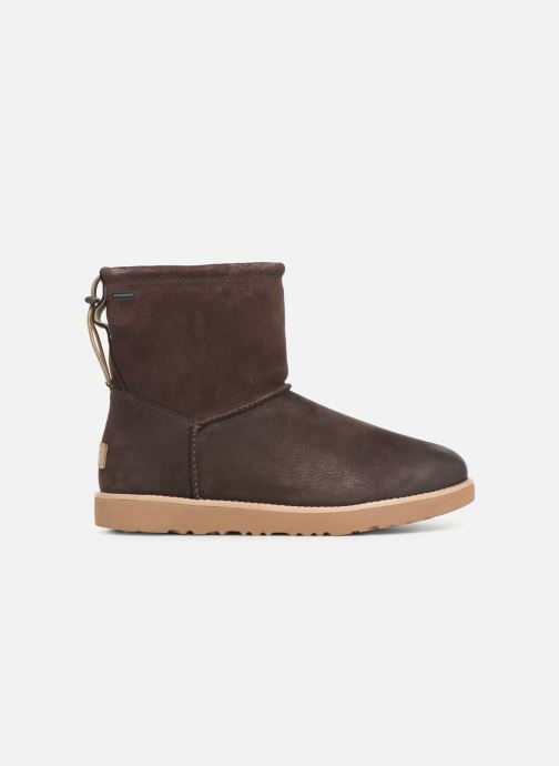 Boots & wellies UGG M Classic Toggle Waterproof Brown back view