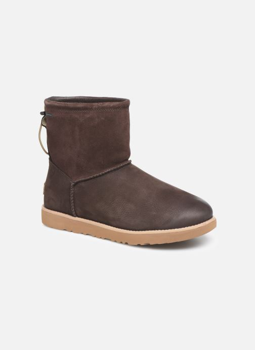 Boots & wellies UGG M Classic Toggle Waterproof Brown detailed view/ Pair view