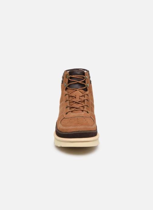 Stiefeletten & Boots UGG M Highland Sport braun schuhe getragen