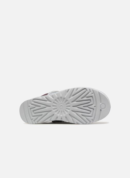 Stivaletti e tronchetti UGG W Classic Short Sequin Argento immagine dall'alto