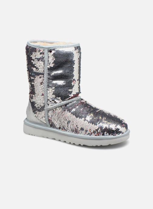 Bottines et boots UGG W Classic Short Sequin Argent vue détail/paire