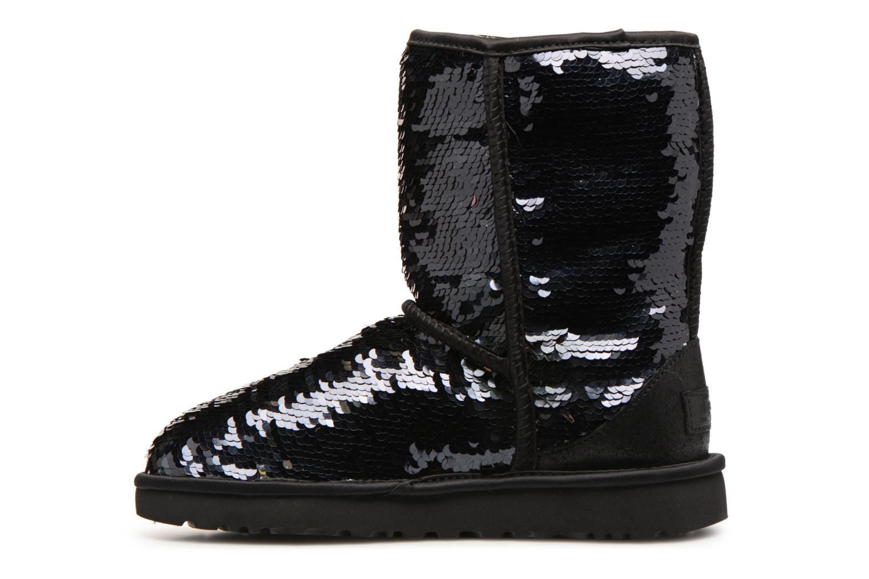Bottines et boots UGG W Classic Short Sequin Noir vue face