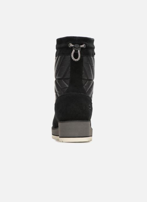 Chaussures de sport UGG W Beck Boot Noir vue droite
