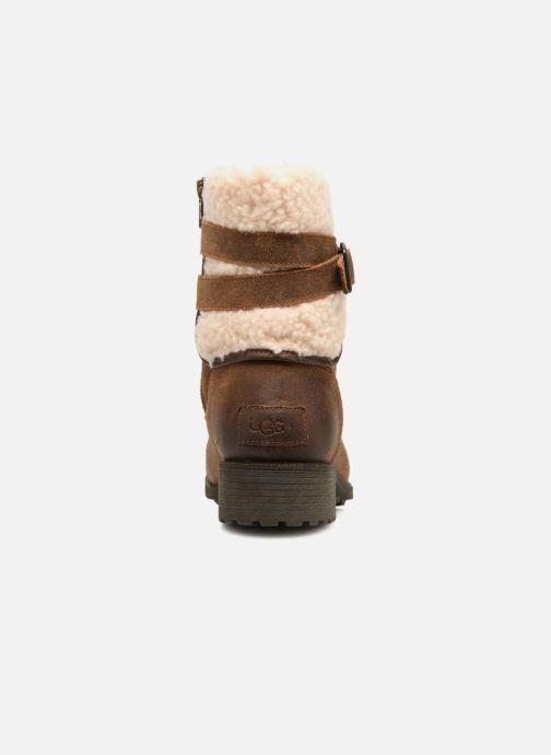 Bottines et boots UGG W Blayre Boot III Marron vue droite