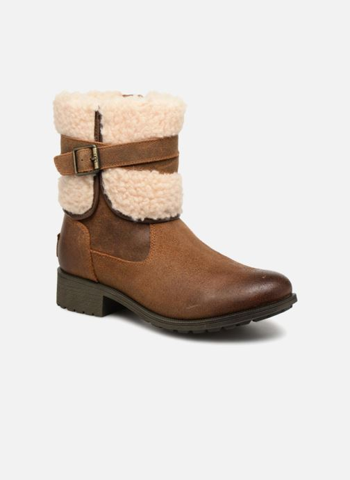 Bottines et boots UGG W Blayre Boot III Marron vue détail/paire